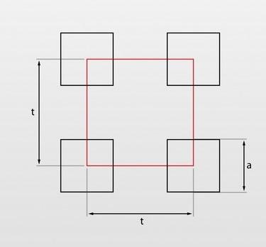 Qg - oczka kwadratowe układ prosty